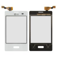 Touchscreen for LG E400 Optimus L3 Cell Phone, (white)