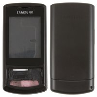 Housing for Samsung S3500 Cell Phone, (black, high copy)