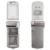 Housing for Nokia N93 Cell Phone, (silver, high copy)