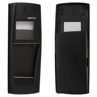 Housing for Nokia 9500 Cell Phone, (black, high copy, front and back panel)