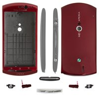 Housing for Sony Ericsson MT11i Xperia neo V, MT15i Xperia Neo Cell Phones, (red)