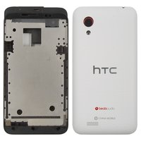 Housing for HTC T328t Desire VT Cell Phone, (white)