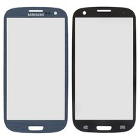 Housing Glass for Samsung I9300 Galaxy S3, I9305 Galaxy S3 Cell Phones, (dark blue)