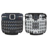 Keyboard for Nokia C3-00 Cell Phone, (dark blue, english)