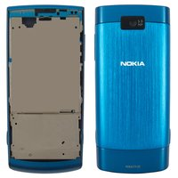 Housing for Nokia X3-02 Cell Phone, (dark blue, high copy)