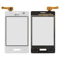 Touchscreen for LG E425 Optimus L3 II Cell Phone, (white)