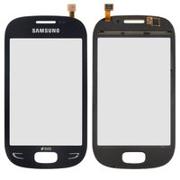 Touchscreen for Samsung S5292 Cell Phone, (dark blue)