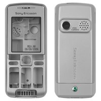Housing for Sony Ericsson K310 Cell Phone, (silver, high copy)