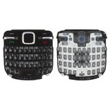 Keyboard for Nokia C3-00 Cell Phone, (black, english)