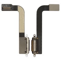 Cable flex para tablet PC Apple iPad 3, del conector de carga, con componentes