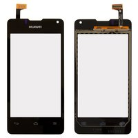 Touchscreen for Huawei Ascend Y300D, U8833 Ascend Y300  Cell Phones, (black)