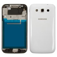 Housing for Samsung I8552 Galaxy Win Cell Phone, (white)