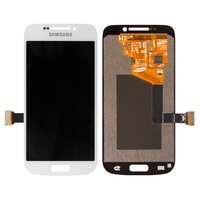 LCD for Samsung C101 Galaxy S4 Zoom, C1010 Galaxy S4 Zoom Cell Phones, (white, with touchscreen)