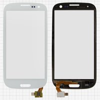 Touchscreen for China-Samsung I9300, S3 Cell Phones, (white, capacitive, (133*68mm), (105*59mm)) #TP3004/MD-CTP010-B1