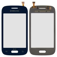 Touchscreen for Samsung S6310 Galaxy Young, S6312 Galaxy Young Cell Phones, (dark blue)