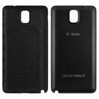 Battery Back Cover for Samsung N900 Note 3, N9000 Note 3, N9006 Note 3 Cell Phones, (black)