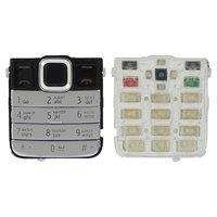 Keyboard for Nokia 7310sn Cell Phone, (silver, russian)