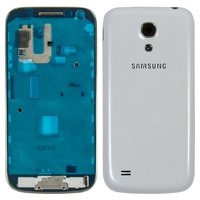 Housing for Samsung I9190 Galaxy S4 mini Cell Phone, (white)