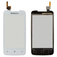 Touchscreen for Lenovo A390 Cell Phone, (white)