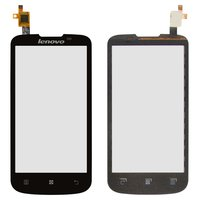 Touchscreen for Lenovo A800 Cell Phone, (black)