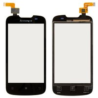 Touchscreen for Lenovo A690 Cell Phone, (black)