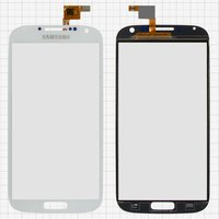 Touchscreen for China-Samsung I9500 S4 Cell Phone, (white, capacitive, (134*68mm), (111*62mm)) #C050170GF