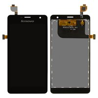 LCD for Lenovo K860 Cell Phone, (black, with touchscreen) #BTL507212-W575L