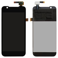 LCD for ZTE Grand X Pro, V985 Grand Era Cell Phones, (black, with touchscreen)