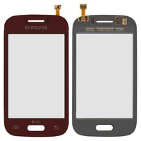 Touchscreen for Samsung S6310 Galaxy Young, S6312 Galaxy Young Cell Phones, (red)