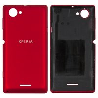 Housing Back Cover for Sony C2104 S36 Xperia L, C2105 S36h Xperia L Cell Phones, (red)