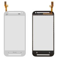 Touchscreen for HTC Desire 608t Cell Phone, (white)