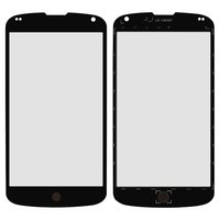 Housing Glass for LG E960 Nexus 4 Cell Phone, (black)