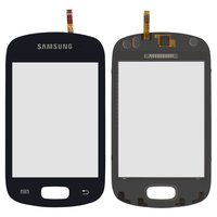 Touchscreen for Samsung S6010 Cell Phone, (dark blue)