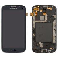 LCD for Samsung I9152 Galaxy Mega 5.8 Cell Phone, (dark blue, with touchscreen, with front panel)