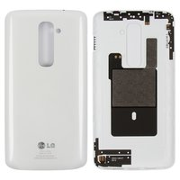 Battery Back Cover for LG G2 D800, G2 D801, G2 D802, G2 D803, G2 D805, LS980 Cell Phones, (white)
