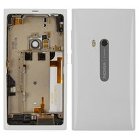 Housing for Nokia N9 Cell Phone, (white, full set)