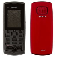 Housing for Nokia X1-01 Cell Phone, (red, high copy)