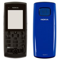 Housing for Nokia X1-01 Cell Phone, (dark blue, high copy)