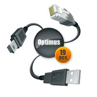 Optimus Cable Set for Samsung and LG (19 pcs.)