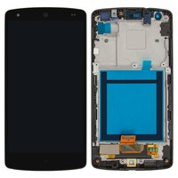 LCD for LG D820 Nexus 5 Google, D821 Nexus 5 Google Cell Phones, (black, original (PRC), with touchscreen, with front panel)
