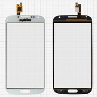 Touchscreen for China-Samsung I9500 S4 Cell Phone, (white, capacitive, (134*68mm), (111*62mm)) #BXW5019D-A