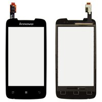 Touchscreen for Lenovo A390T Cell Phone, (black)