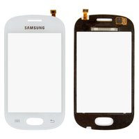 Touchscreen for Samsung S6812 Galaxy Fame Dual Sim Cell Phone, (white)