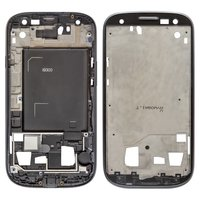 LCD Binding Frame for Samsung I9300 Galaxy S3 Cell Phone, (grey)