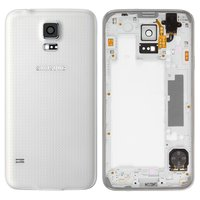 Housing for Samsung G900H Galaxy S5 Cell Phone, (white)