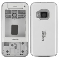Housing for Nokia N81 8Gb Cell Phone, (white, high copy, 8 GB)