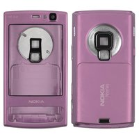 Carcasa para celular Nokia N95 8Gb, morado, high copy