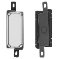 Plastic for Menu Button for Samsung I9220 Galaxy Note, N7000 Note Cell Phones, (white)