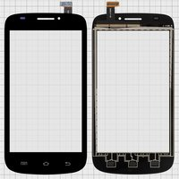 Touchscreen for Prestigio MultiPhone 5000 Duo Cell Phone, (black) #ZHT05M05002-FPC-3/0303-F-01