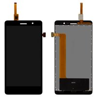 LCD for Lenovo S860 Cell Phone, (black, with touchscreen)